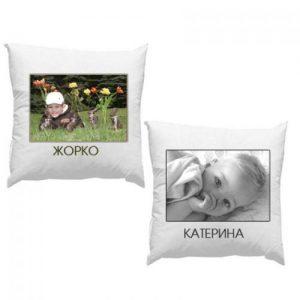 Възглавничка със снимка
